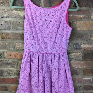 Lilly Pulitzer Flower Lace Dress